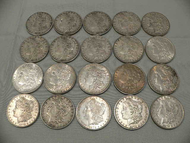 #C302 One Roll of 1879 Silver Dollar