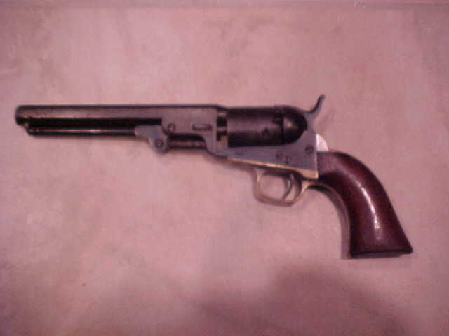 "Very Good Colt 1849 Pocket model, .31x 5"", Blue, Silver"