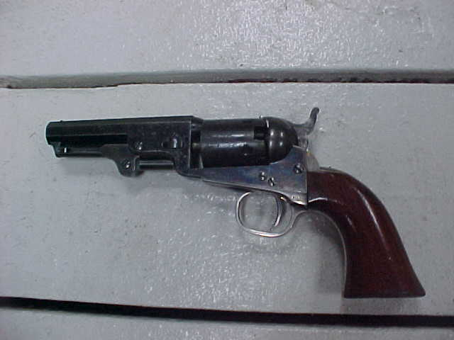 Near Mint Colt 1849 Pocket Model, Blue, Case, Marked Kittridge and Co., Silver, Presentation