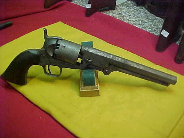 "#4886 Colt 1851 Navy, 71XXX range (1858) and being the scarce variation ""Large guard iron-strapped New York"""