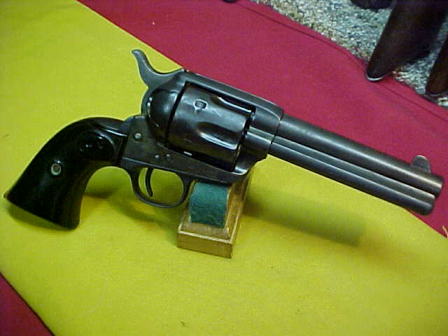"#4968 Colt S/A, 4-3/4""x45COLT, 129XXX (made in late 1890)"